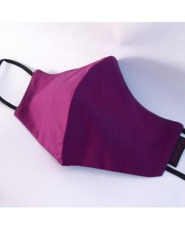 ΝΕΑ Τριγωνική υφασμάτινη μάσκα προσώπου ποπλίνα (5τμχ) - 01n