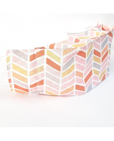 """Candy"" fabric face mask Chevron - 020ch"