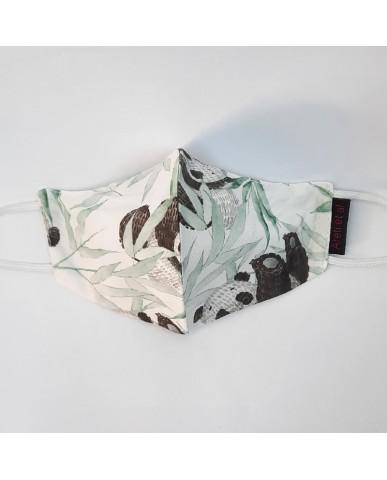 "BESTSELLER Τριγωνική υφασμάτινη μάσκα προσώπου ""Animals"" - 040A"