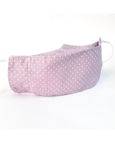 """Candy"" fabric face mask Polka Dots- 020pd"