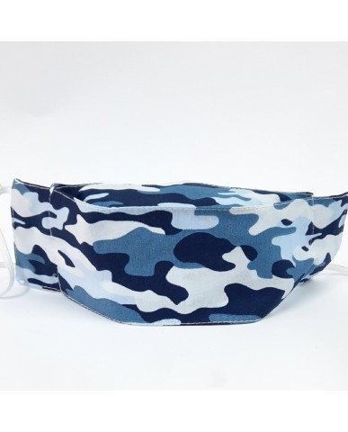 """Candy"" fabric face mask ""Army"" - 020army"