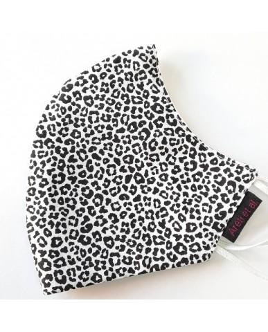 "BESTSELLER Τριγωνική υφασμάτινη μάσκα προσώπου ""Animal Print"" - 040ΑP"