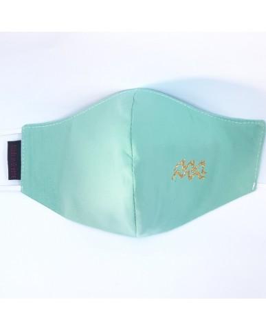 "BESTSELLER Τριγωνική υφασμάτινη μάσκα προσώπου ""Aquarius"" - 040ΑQU"