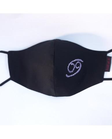 "BESTSELLER Τριγωνική υφασμάτινη μάσκα προσώπου ""Cancer"" - 040CAN"