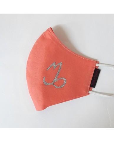 "BESTSELLER Τριγωνική υφασμάτινη μάσκα προσώπου ""Capricorn"" - 040CAP"