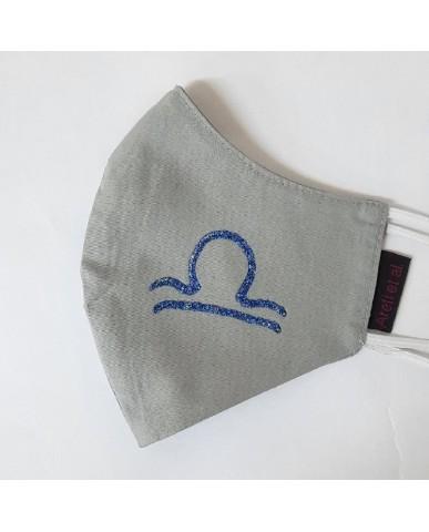 "BESTSELLER Τριγωνική υφασμάτινη μάσκα προσώπου ""Libra"" - 040LIB"