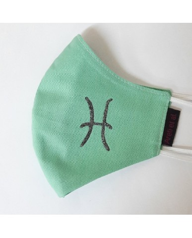 "BESTSELLER Τριγωνική υφασμάτινη μάσκα προσώπου ""Pisces"" - 040PIS"