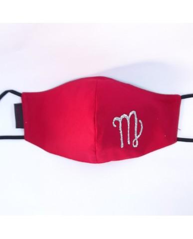 "BESTSELLER Τριγωνική υφασμάτινη μάσκα προσώπου ""Virgo"" - 040VIR"