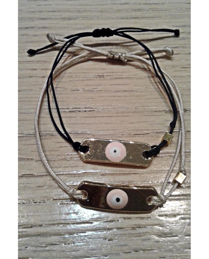"""Handmade macrame bracelet """"Eye"""" JWL23"""