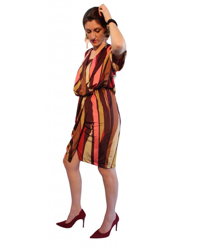 Κρουαζέ φόρεμα (θηλασμού) με τιραντάκι 927