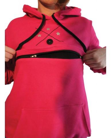 Φούτερ μπλούζα θηλασμού BASiC 9913