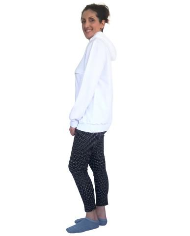 Φούτερ μπλούζα θηλασμού BASiC 9913b