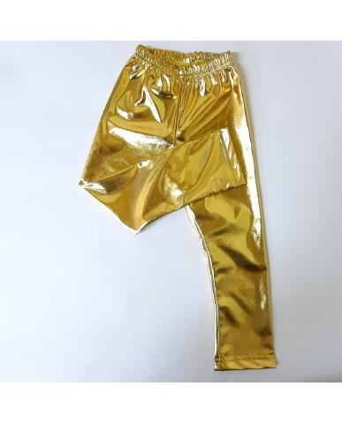 Εντυπωσιακό χρυσό παιδικό κολάν Β16b