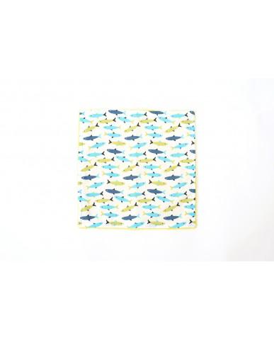 """Βρεφικό σετ """"Fishes"""" 4 τεμαχίων - DM3"""