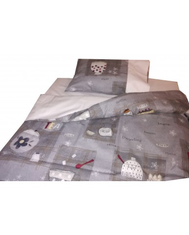 "Baby bedding set ""Tea time"" I18"