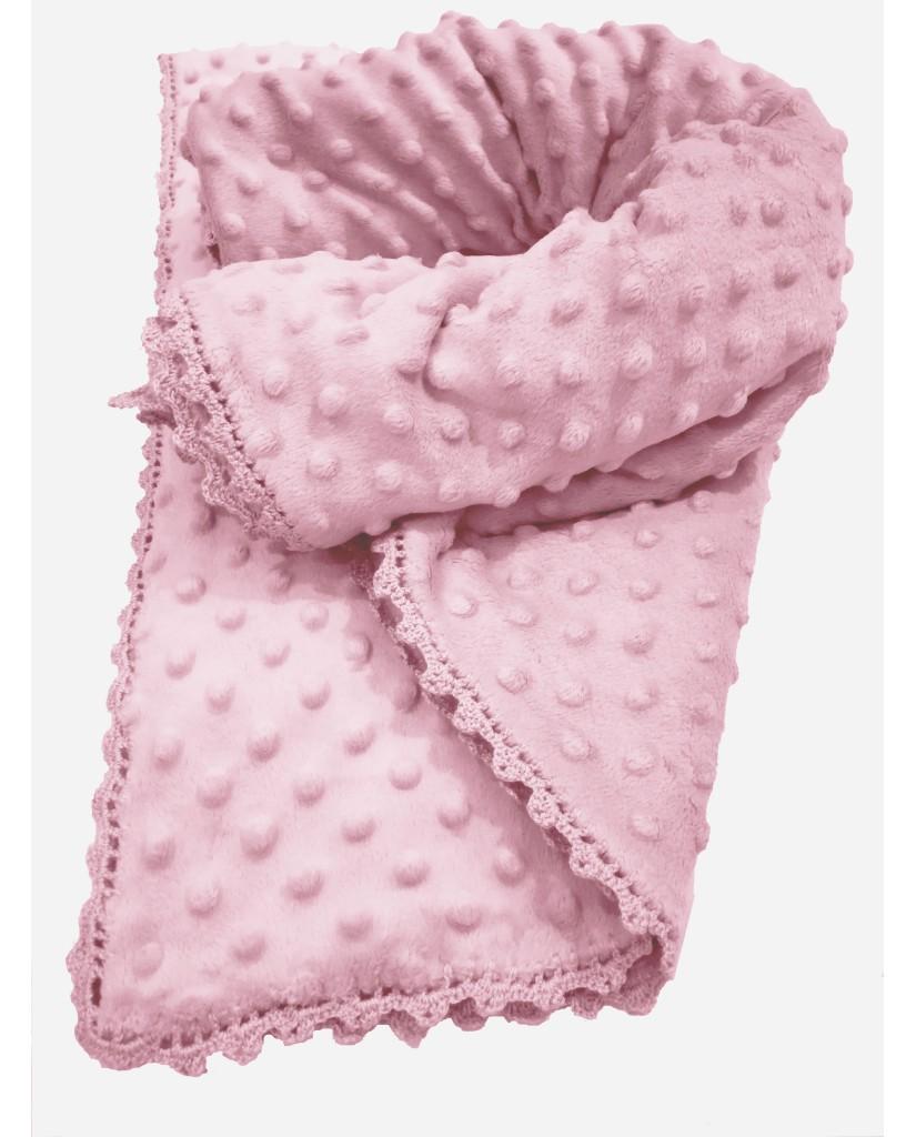 Pink baby blanket M52