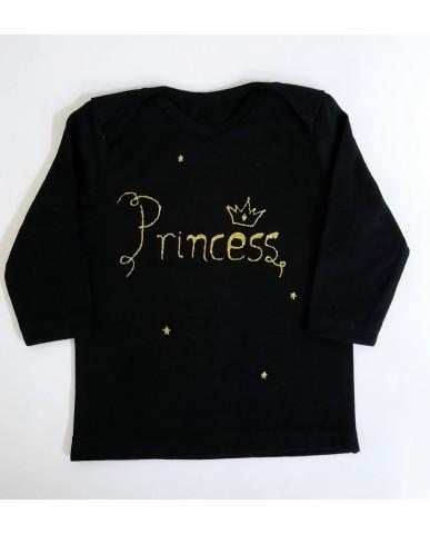 """Princess"" βρεφική μπλούζα  A16"