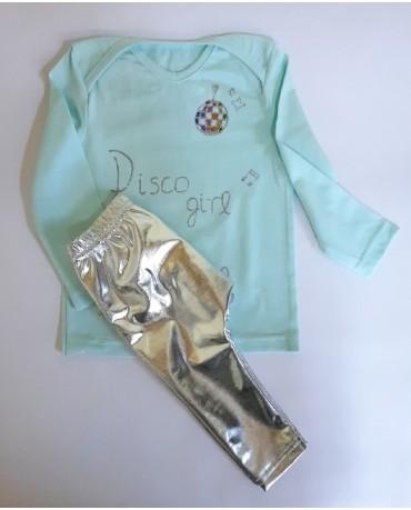 """""""Disco girl"""" βρεφικό σετ κολάν με μπλούζα - pr400"""